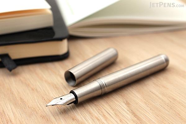Kaweco Liliput Fountain Pen - Stainless Steel - Medium Nib - KAWECO 10000836