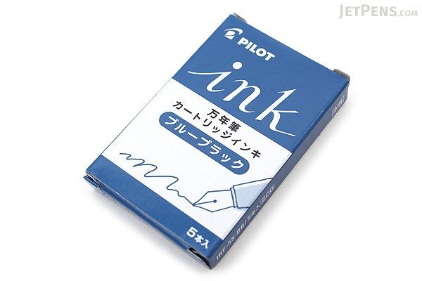 Pilot Blue Black Ink - 5 Cartridges - PILOT IRF-5S-BB