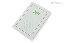 Life Pistachio Notebook - A6 - Graph - LIFE N79
