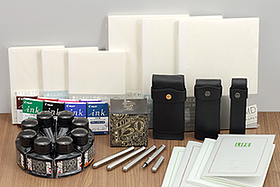 New Products: Liliput Steel Fountain Pens, Diamine Fountain Pen Inks, High Quality Notebooks, Leather Pouches, and More!