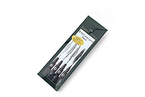Faber-Castell PITT Artist Pen - India Ink - Black - Set of 4 (S, F, M, B) - FABER-CASTELL FC167100