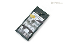Faber-Castell PITT Artist Pen B Brush - India Ink - Shades of Grey - Set of 6 - FABER-CASTELL FC167104