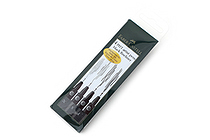 Faber-Castell PITT Artist Pen - India Ink - Black - Set of 4 Fineliner (XS, S, F, M) - FABER-CASTELL FC167115
