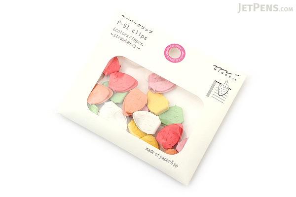 Midori P-51 Paper Clips - Strawberry - MIDORI 43316-006
