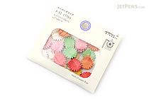 Midori P-51 Paper Clips - Flower - MIDORI 43317-006