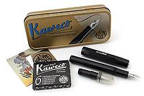Kaweco Calligraphy Pen Set - Small - 1.5 mm / 2.3 mm - Black Body - KAWECO 10000812