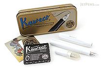 Kaweco Calligraphy Pen Set - Small - White - 1.5 mm / 2.3 mm - KAWECO 10000813