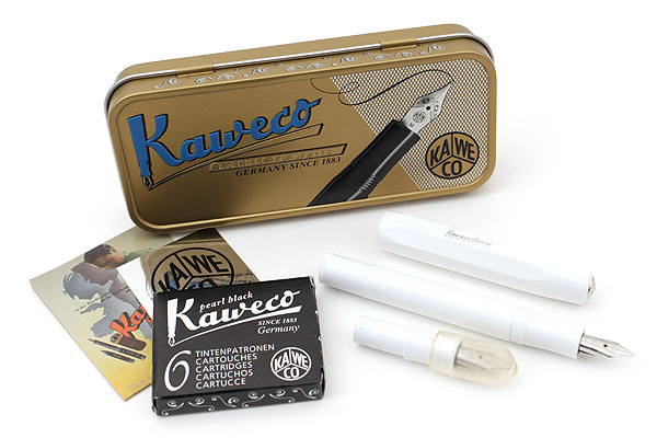 Kaweco Calligraphy Pen Set Small 1 5 Mm 2 3 Mm