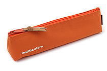 Cubix Simple Colored Pen Case - Orange - CUBIX 106141-04-45