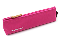 Cubix Simple Colored Pen Case - Pink - CUBIX 106141-06-45