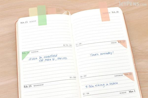 Beverly Kokosasu Film Page Markers - Sharp - BEVERLY CS-037