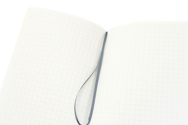 Kokuyo Buncobon Dot Cover Notebook - A6 - 5 mm Graph - Pink - KOKUYO NO-BU47S-P