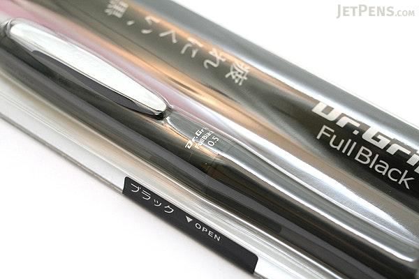 Pilot Dr. Grip Full Black Shaker Mechanical Pencil - 0.5 mm - Black Accents - PILOT HDGFB-80R-B