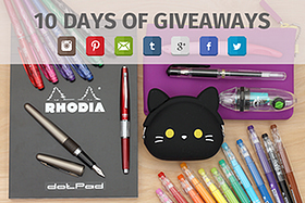 Pen Perks: 10 Days of Giveaways
