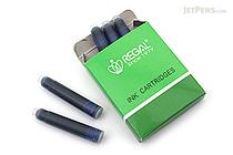 Regal Blue Ink - 5 Cartridges - REGAL W-21-BL