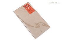 Midori Traveler's Notebook Refill 003 - Regular Size - Blank - MIDORI 14247-006