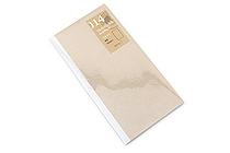 Midori Traveler's Notebook Refill - Regular Size - Kraft Paper - MIDORI 14288-006
