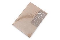 Midori Traveler's Notebook Refill - Passport Size - Blank MD Paper - MIDORI 14325-006