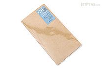 Midori Traveler's Notebook Accessories 020 - Kraft File Folder - Regular Size - MIDORI 14332-006