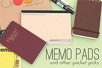 Memo Pads and Other Pocket Picks