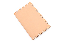 Word Notebooks Hellbrand Leather Notebook Cover - Tan - WORD NOTEBOOKS W-NBCOVERTAN