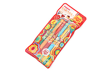 Zebra Limited Edition Sarasa Clip Chupa Chups Scented Gel Pen - 0.5 mm - 5 Color Set A - ZEBRA JJ29-CC-5C-A
