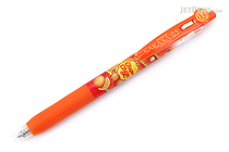 Zebra Limited Edition Sarasa Clip Chupa Chups Scented Gel Pen - 0.5 mm - Orange - Red Orange - ZEBRA JJ29-CC-ROR