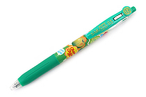 Zebra Limited Edition Sarasa Clip Chupa Chups Scented Gel Pen - 0.5 mm - Green Apple - Green - ZEBRA JJ29-CC-G