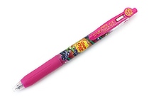 Zebra Limited Edition Sarasa Clip Chupa Chups Scented Gel Pen - 0.5 mm - Grape - Magenta - ZEBRA JJ29-CC-MZ