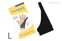 SmudgeGuard SG1 1-Finger Glove - Cool Black - Large - SMUDGE GUARD SG1-CB-L