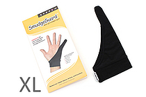 SmudgeGuard SG1 1-Finger Glove - Cool Black - Extra Large - SMUDGE GUARD SG1-CB-XL