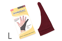 SmudgeGuard SG1 1-Finger Glove - Rich Burgundy - Large - SMUDGE GUARD SG1-RB-L