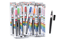 Pentel Art Brush Pen - 18 Color Bundle - JETPENS PENTEL XGFL BUNDLE