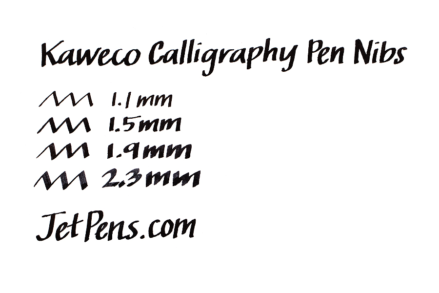 Kaweco Calligraphy Fountain Pen Replacement Nib - 1.9 mm - Black Body - KAWECO 10001137