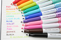Pilot FriXion Colors Erasable Markers Video Review