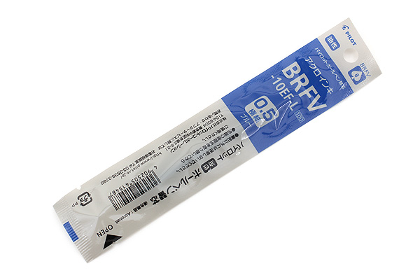 Pilot BRFV-10EF Acro Ink Ballpoint Pen Refill - 0.5 mm - Blue - PILOT BRFV-10EF-L