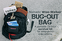 The World is Ending: What to Pack in Your Nomadic Wise-Walker Backpack