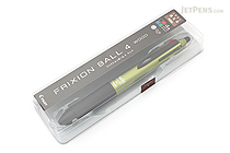 Pilot FriXion Ball 4 Wood 4 Color Gel Ink Multi Pen - 0.5 mm - Dark Green - PILOT LKFB-3SEF-DG