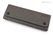 Midori Pulp Storage Pasco Pen Case - Black - MIDORI 41598-006