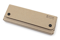 Midori Pulp Storage Pasco Pen Case - Beige - MIDORI 41599-006