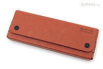 Midori Pulp Storage Pasco Pen Case - Reddish Brown - MIDORI 41600-006