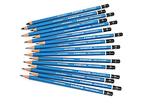 Staedtler Mars Lumograph Graphite Pencil - Bundle of 16 Lead Grades - JETPENS STAEDTLER 100 BUNDLE
