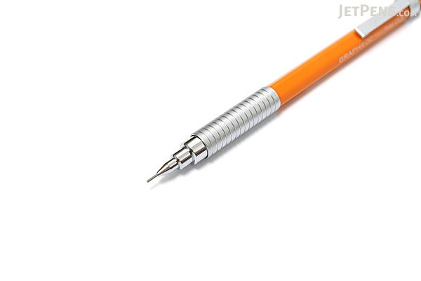 Pentel Graph 600 Drafting Pencil - 0.3 mm - Orange Body - PENTEL PG603-F