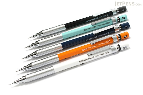 Pentel Graph 600 Drafting Pencil - 0.5 mm - Navy Blue Body - PENTEL PG605-C