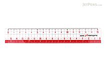 Sonic Nano Pita Non-Slip Reversible Ruler - 15 cm - SONIC SK-7500