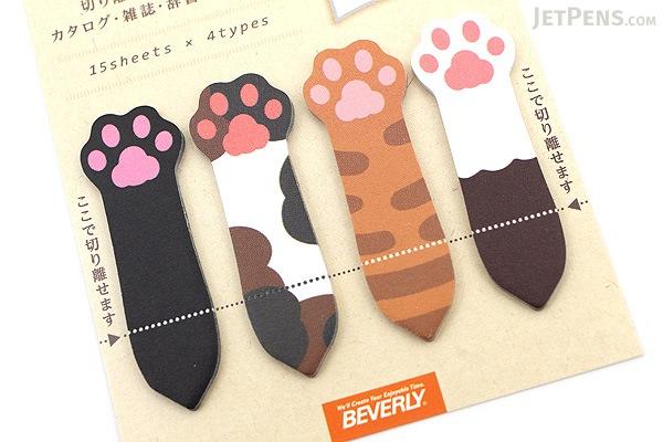Beverly Kokosasu Page Markers - Cat Paws - BEVERLY CS-042