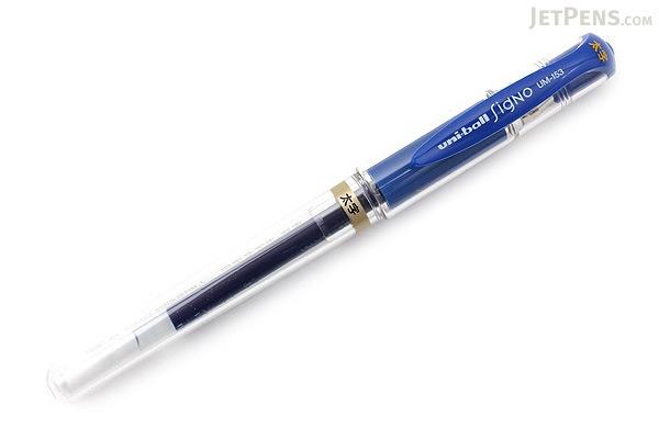 Uni-ball Signo Broad UM-153 Gel Pen - Blue Ink - UNI UM153.33