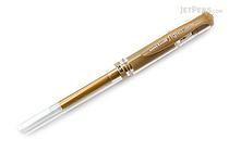 Uni-ball Signo Broad UM-153 Gel Pen - Gold Ink - UNI UM153.25