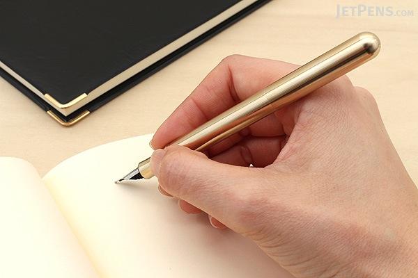 Kaweco Liliput Fountain Pen - Eco Brass - Extra Fine Nib - KAWECO 10000868