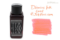 Diamine Coral Ink - 30 ml Bottle - DIAMINE INK 3041